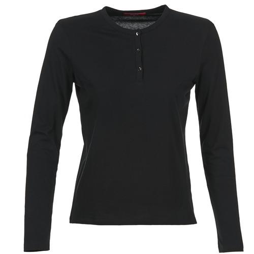 Vêtements Femme T-shirts manches longues BOTD EBISCOL Noir