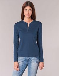 Vêtements Femme T-shirts manches longues BOTD EBISCOL Marine