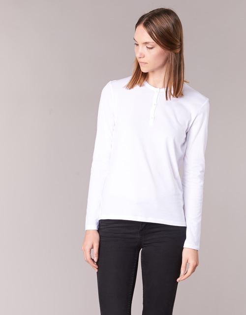 Vêtements Femme T-shirts manches longues BOTD EBISCOL Blanc