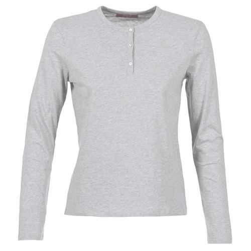 Vêtements Femme T-shirts manches longues BOTD EBISCOL Gris chiné