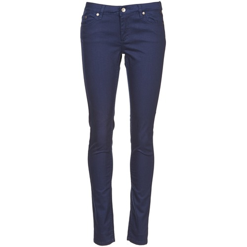 Vêtements Femme Pantalons 5 poches Element STICKER Bleu