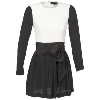 Vêtements Femme Robes courtes American Retro STANLEY Noir / Blanc
