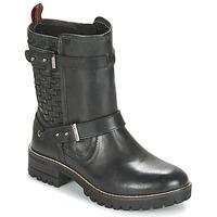 Chaussures Air max tnFemme Boots Pepe jeans HELEN Noir