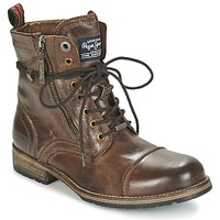Chaussures Homme Boots Pepe jeans MELTING Tan