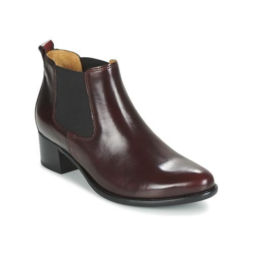 Chaussures Femme Bottines Gabor AURICH Bordeaux