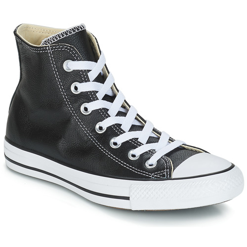 Chaussures Baskets montantes Converse Chuck Taylor All Star CORE LEATHER HI Noir