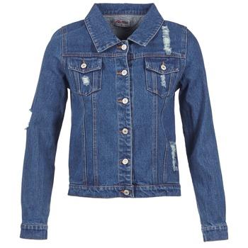 Vêtements Femme Vestes en jean Yurban EJINILE Bleu foncé