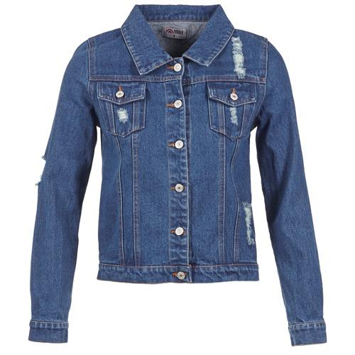 Vêtements Femme Vestes en jean Yurban ESPINALE Bleu foncé