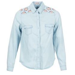 Vêtements Femme Chemises / Chemisiers Yurban EGUATOULE Bleu clair