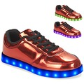 Chaussures Femme Baskets basses Wize & Ope POP Rouge