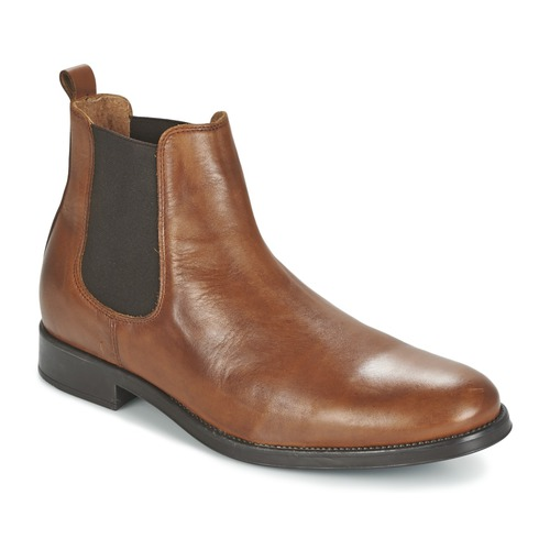 Chaussures Homme Boots Selected SHDOLIVER CHELSEA BOOT NOOS Cognac