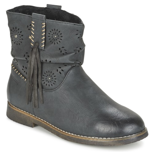 Chaussures Femme Boots Coolway BAILI Noir