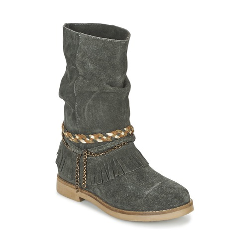 Chaussures Femme Bottes ville Coolway BIARA Gris