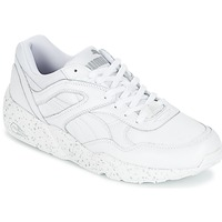 Chaussures Air max tnHomme Baskets basses Puma R698 SPECKLE Blanc / Argent