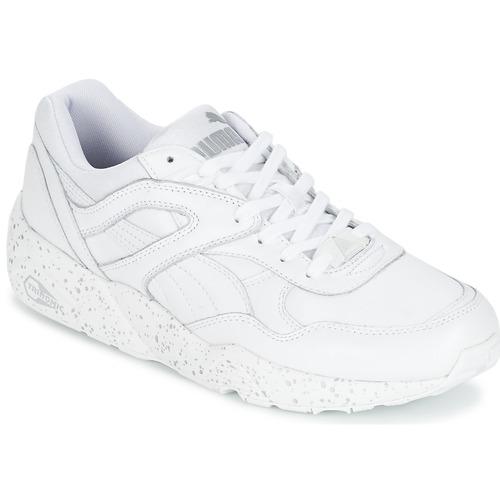 Chaussures Homme Baskets basses Puma R698 SPECKLE Blanc / Argent