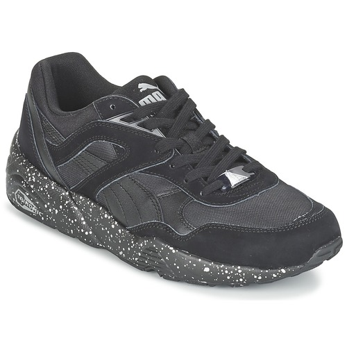 Chaussures Homme Baskets basses Puma R698 SPECKLE V2 Noir / Argent