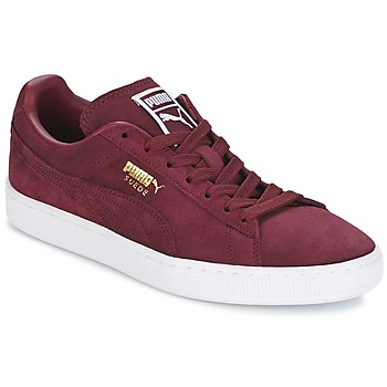 Chaussures Air max tnHomme Baskets basses Puma SUEDE CLASSIC + Bordeaux