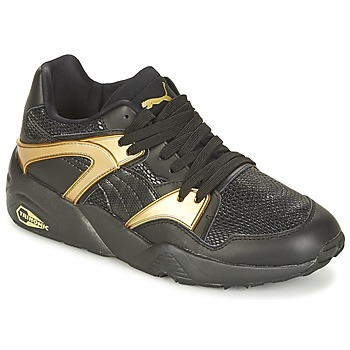 Chaussures Air max tnFemme Baskets basses Puma BLAZE GOLD WN'S Noir / Doré