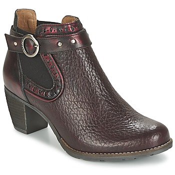 Chaussures Femme Low boots Dkode CLOA Bordeaux