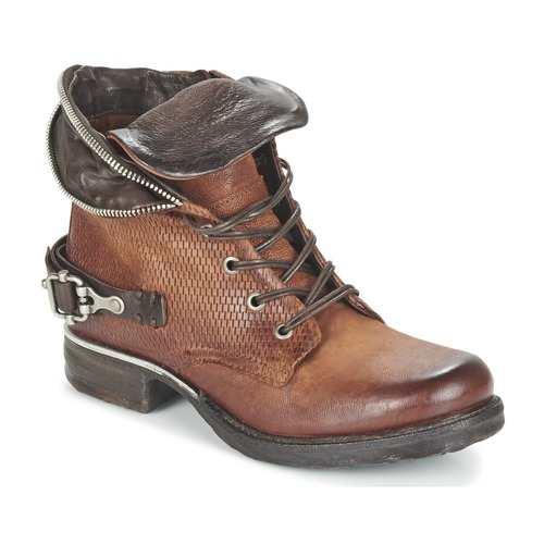 Chaussures Femme Boots Airstep / A.S.98 SAINT PA Marron