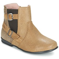 Chaussures Fille Boots Aster DESIA Beige