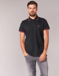 Vêtements Homme Polos manches courtes Casual Attitude EPIDIN Noir