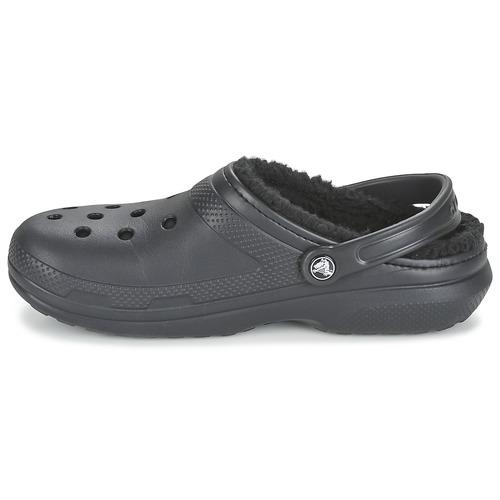 Crocs CLASSIC LINED CLOG Noir