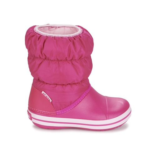 Crocs WINTER PUFF BOOT KIDS Rose