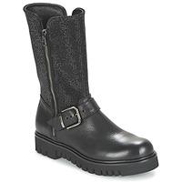 Chaussures Femme Bottes ville Now BOURNIRO Noir