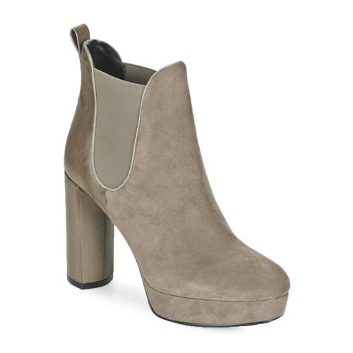 Chaussures Femme Bottines Luciano Barachini MILI Taupe