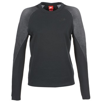 Nike TECH FLEECE CREW Noir
