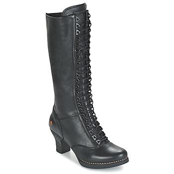 Chaussures Femme Bottes ville Art HARLEM Noir