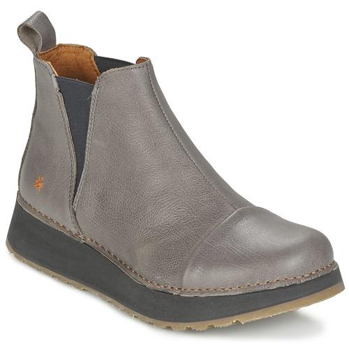 Chaussures Femme Boots Art HEATHROW Gris