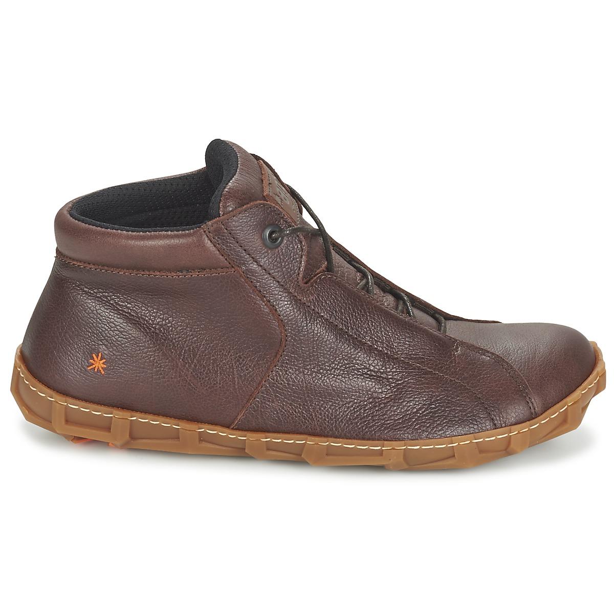 1fae06266ac5ed chaussure homme art,Homme Art Edmonton 383 Marron Baskets Chaussures