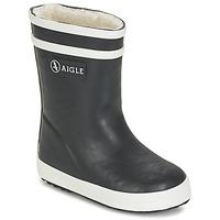 Chaussures Enfant Bottes de pluie Aigle BABY FLAC FUR Marine