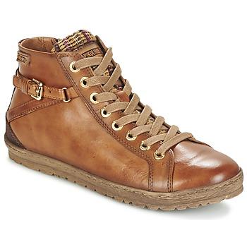 Chaussures Femme Baskets montantes Pikolinos LAGOS 901 Cognac