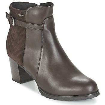 Chaussures Femme Bottines Geox LISE ABX A Marron