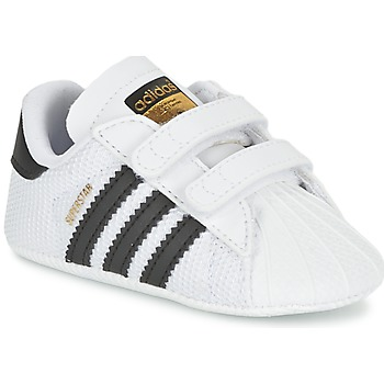 Chaussures Garçon Baskets basses adidas Originals SUPERSTAR CRIB Blanc