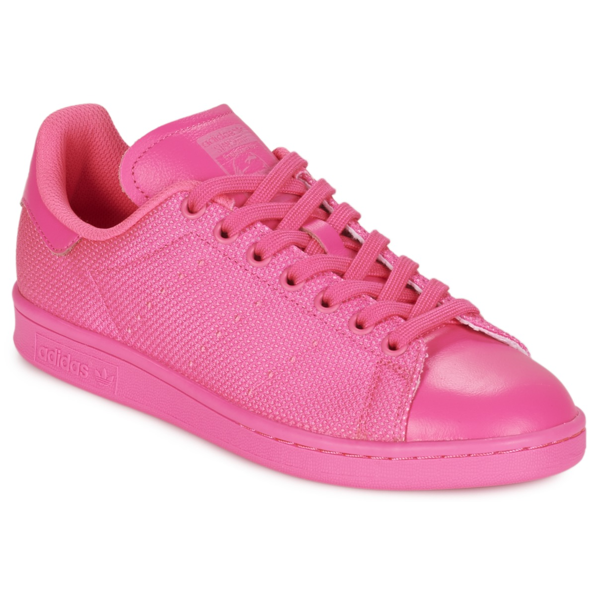 e9e1d830df adidas Originals STAN SMITH Rose - Chaussure pas cher avec Shoes.fr ! -  Chaussures Baskets basses Femme 99,95 €