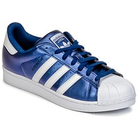 Chaussures Homme Baskets basses adidas Originals SUPERSTAR Bleu
