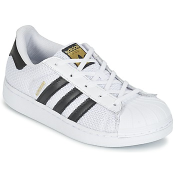 Chaussures Enfant Baskets basses adidas Originals SUPERSTAR EL C Blanc