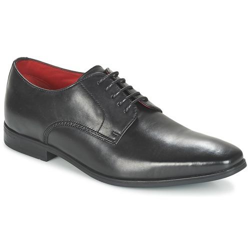 Chaussures Homme Derbies Base London GEORGES Noir
