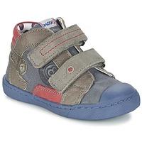 Chaussures Garçon Boots Mod'8 KINZO Marine / Gris