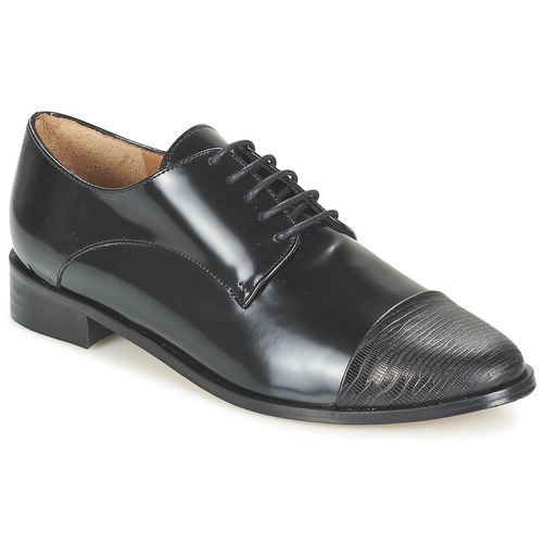 Chaussures Femme Derbies Emma Go SHERLOCK Noir