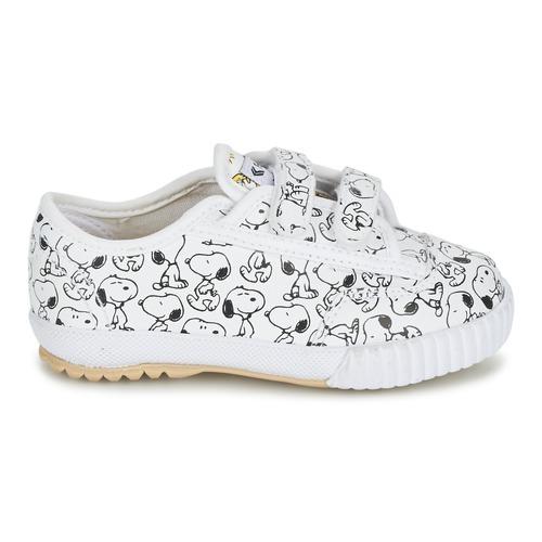 Feiyue Fe Lo Snoopy Ec Blanc