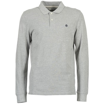 Vêtements Homme Polos manches longues Timberland MILLERS RIVER Gris