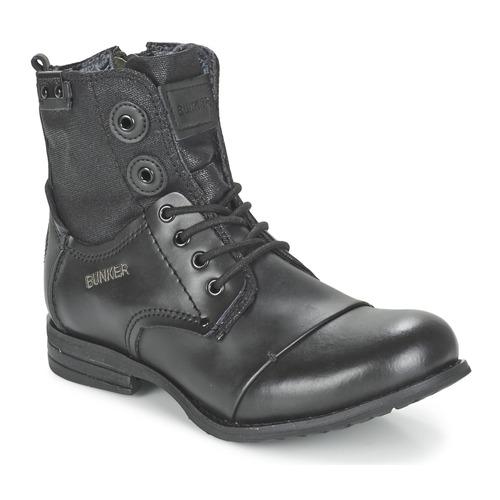Chaussures Femme Boots Bunker SARA Noir