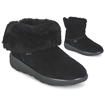 FitFlop SUPERCUSH MUKLOAFF SHORTY Noir