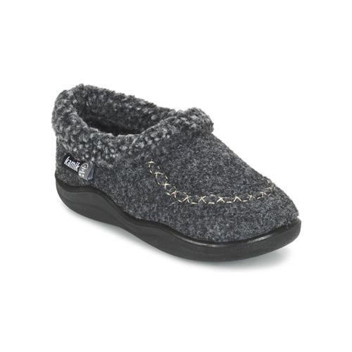 Chaussures Enfant Chaussons KAMIK COZYCABIN2 Gris