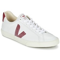 Chaussures Baskets basses Veja ESPLAR Blanc / Rouge